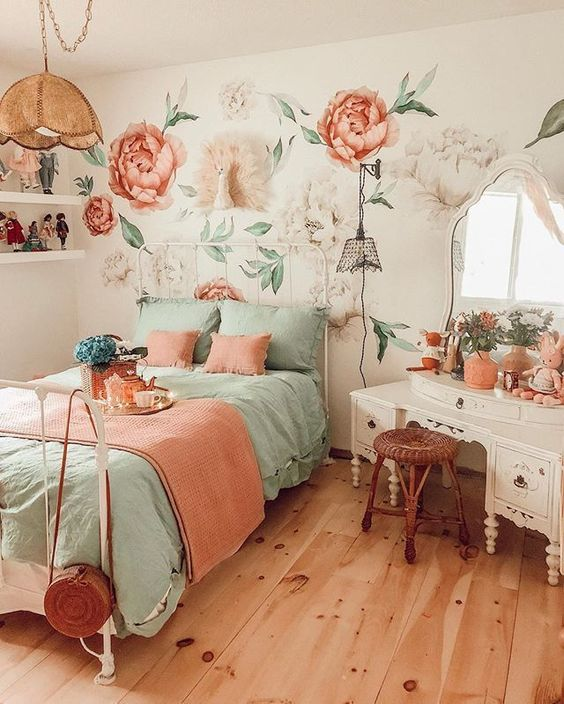 Vintage Bedroom Ideas 16