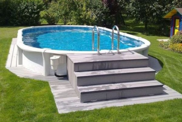 Above Ground Swimming Pool: 21+ Stylish Ideas for Small Home