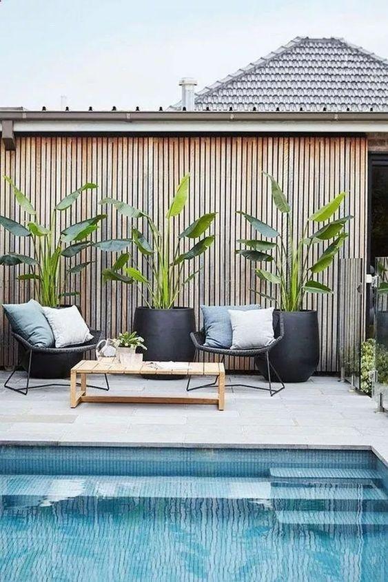 Tropical Backyard Ideas: Gorgeous Refreshing Decor