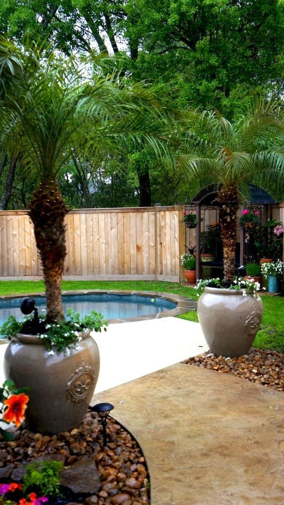 Tropical Backyard Ideas: 20+ Beautifully Refreshing Decors ... on Tropical Backyard  id=12507
