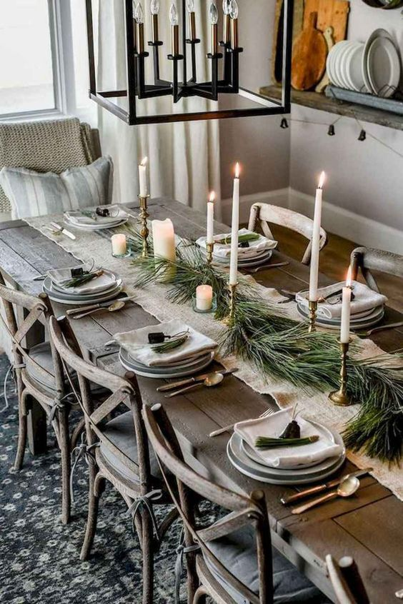 Christmas Dining Room Ideas 18