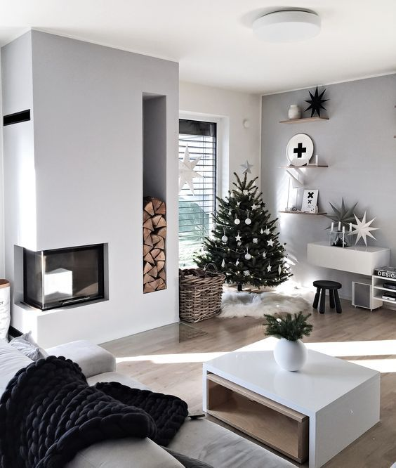 Christmas Living Room Ideas 22