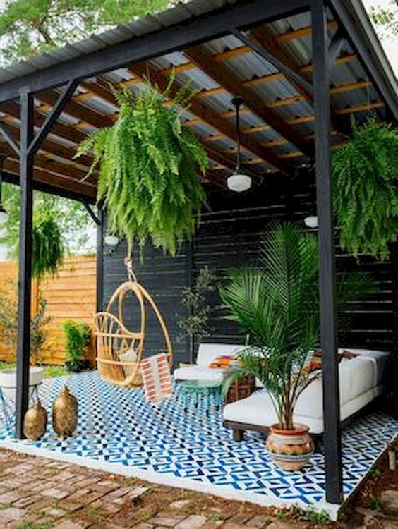 DIY Simple Backyard Ideas 11