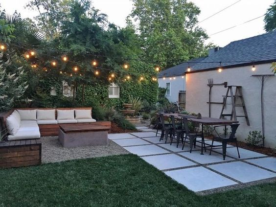 DIY Simple Backyard Ideas 23