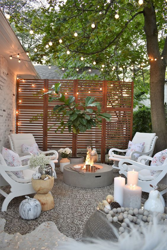 DIY Simple Backyard Ideas: Stylish Cozy Design