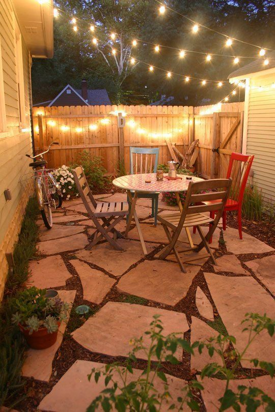 DIY Simple Backyard Ideas: Catchy Earthy Design