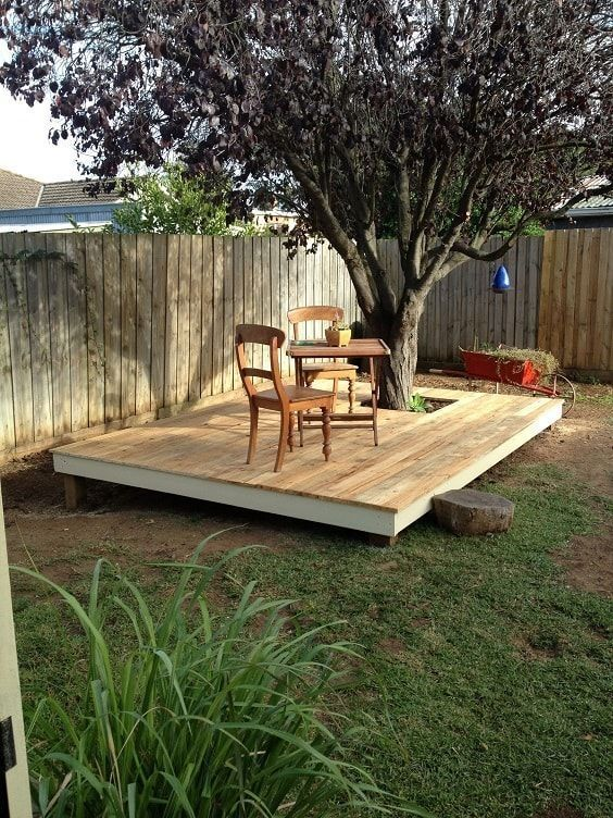 DIY Simple Backyard Ideas: Small Oasis Design