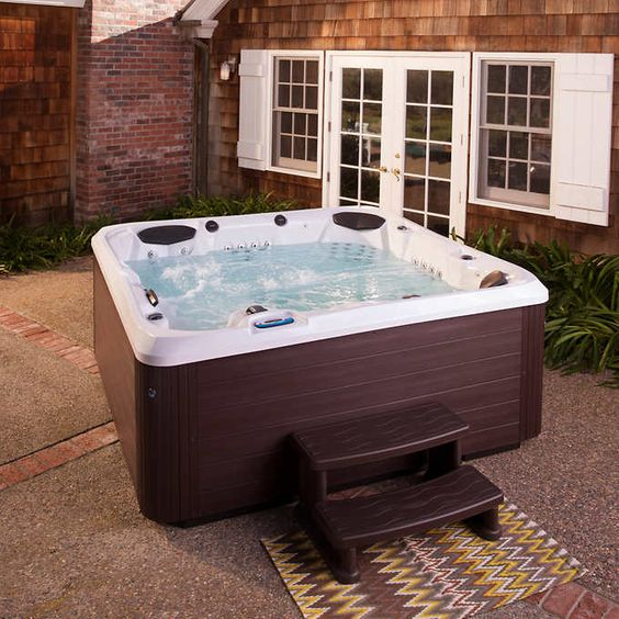 Hot Tub Patio Ideas 11