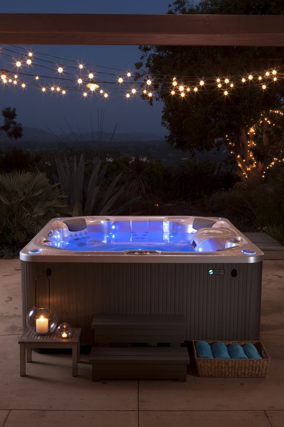 Hot Tub Patio Ideas 16