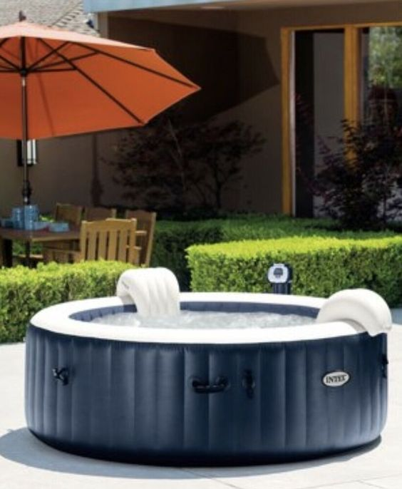 Hot Tub Patio Ideas 17