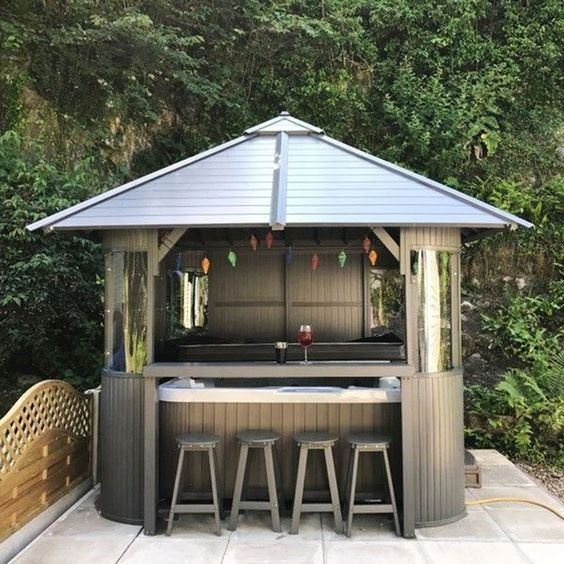 Hot Tub Patio Ideas 18