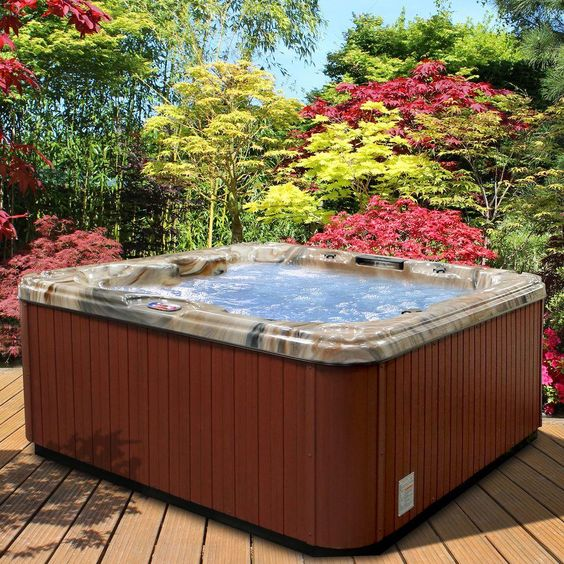 Hot Tub Patio Ideas 20