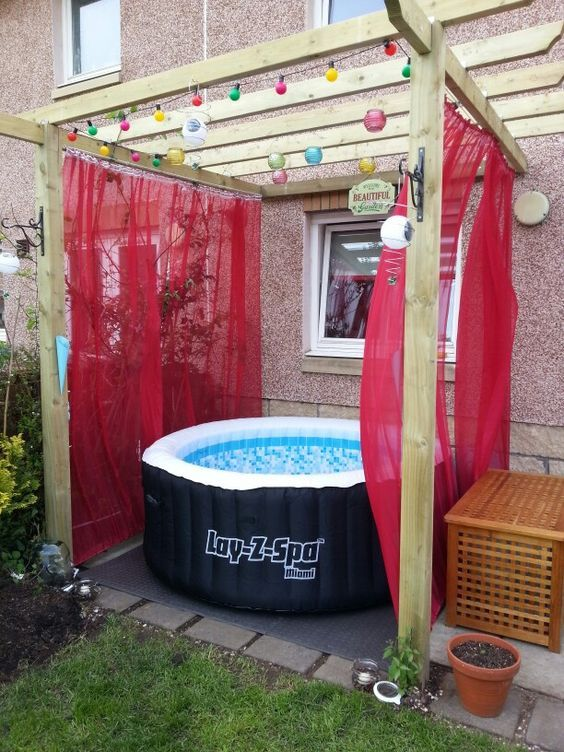 Hot Tub Patio Ideas: Creative Cheap Decor