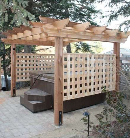 Hot Tub Patio Ideas 8