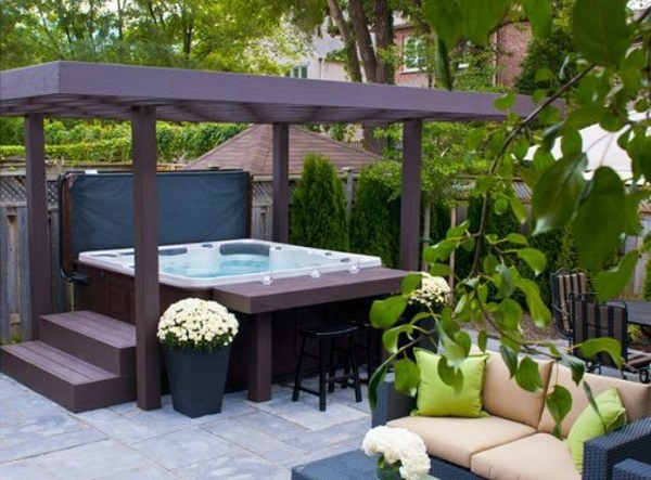 Hot Tub Patio Ideas feature