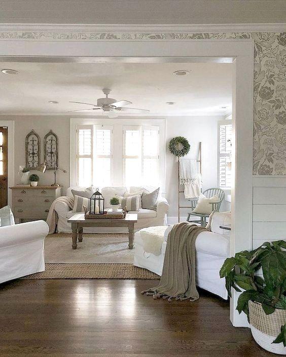 Living Room Wallpaper Ideas 12