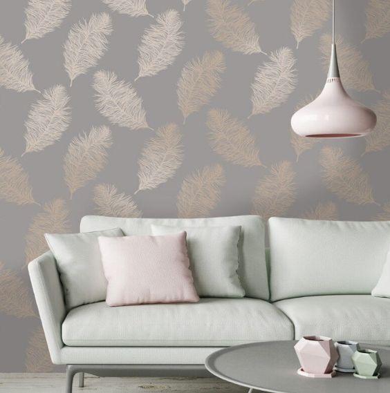 Living Room Wallpaper Ideas 19