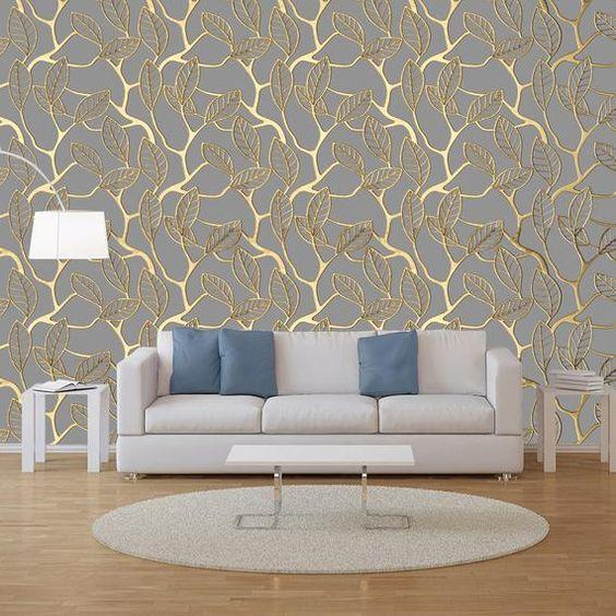 Living Room Wallpaper Ideas 21