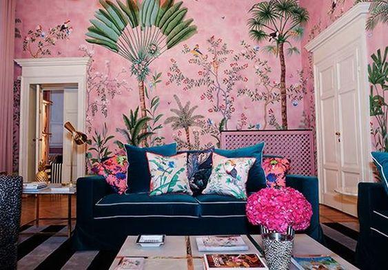 Living Room Wallpaper Ideas 22