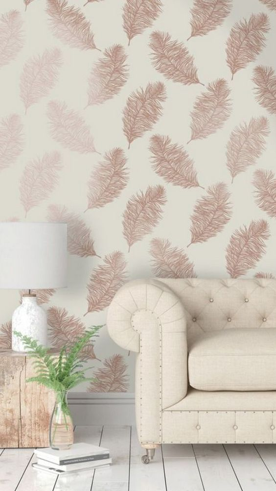 Living Room Wallpaper Ideas: Simple Chic Decor