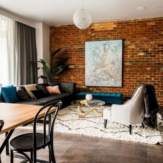 Living Room Wallpaper Ideas Living Room Wallpaper Ideas: Warm Rustic Decor6