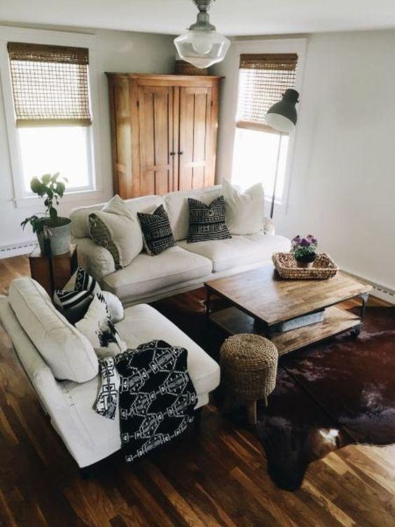 Simple Living Room Ideas: Warm Earthy Decor