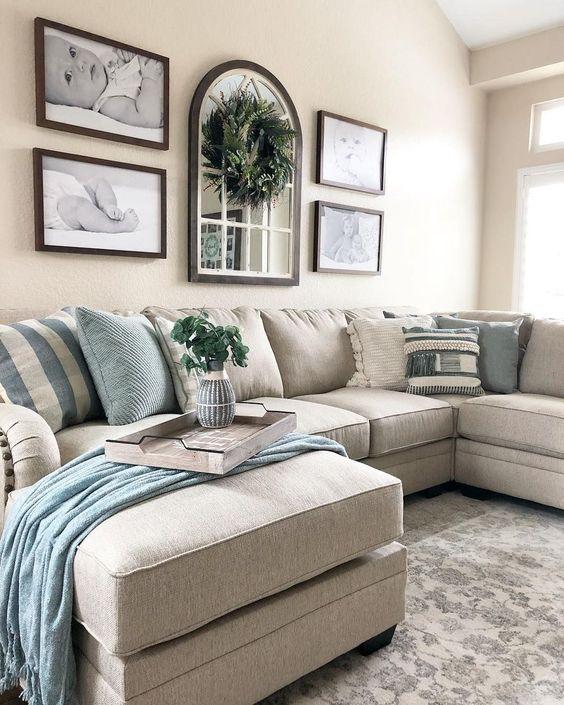 Simple Living Room Ideas: Cozy Farmhouse Decor