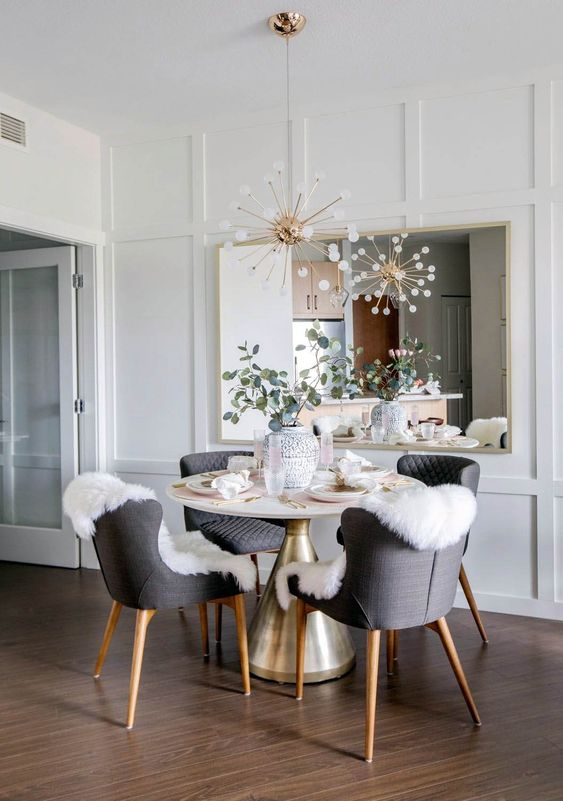 White Dining Room Ideas 19