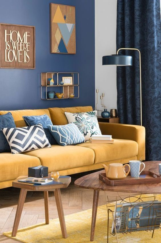 blue living room ideas 15