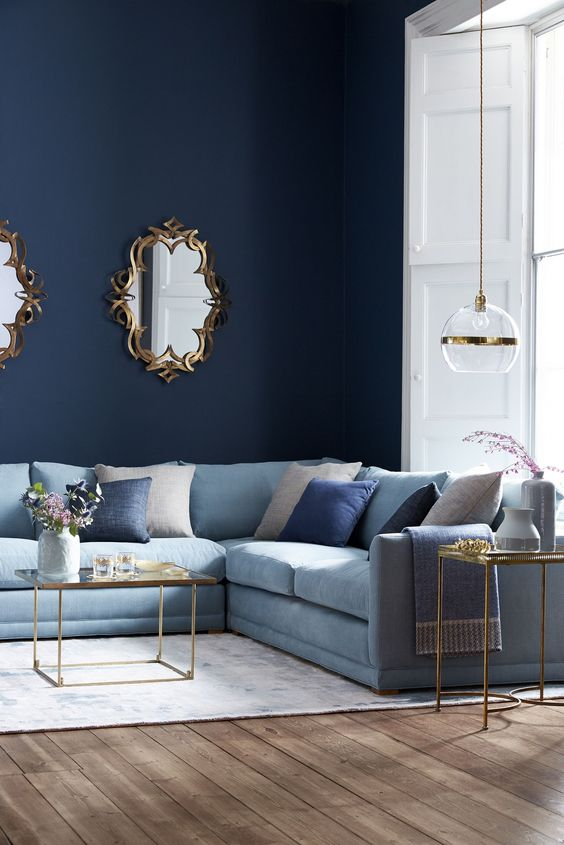 blue living room ideas 17