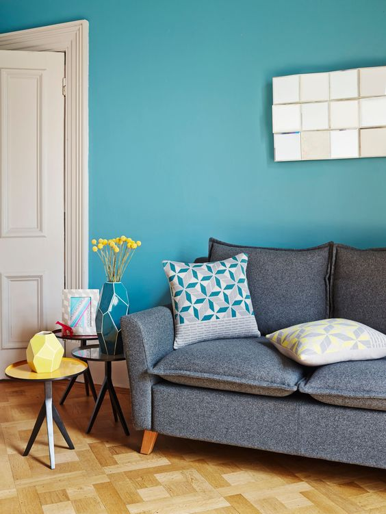 Blue Living Room Ideas: Brightly Stylish Decor