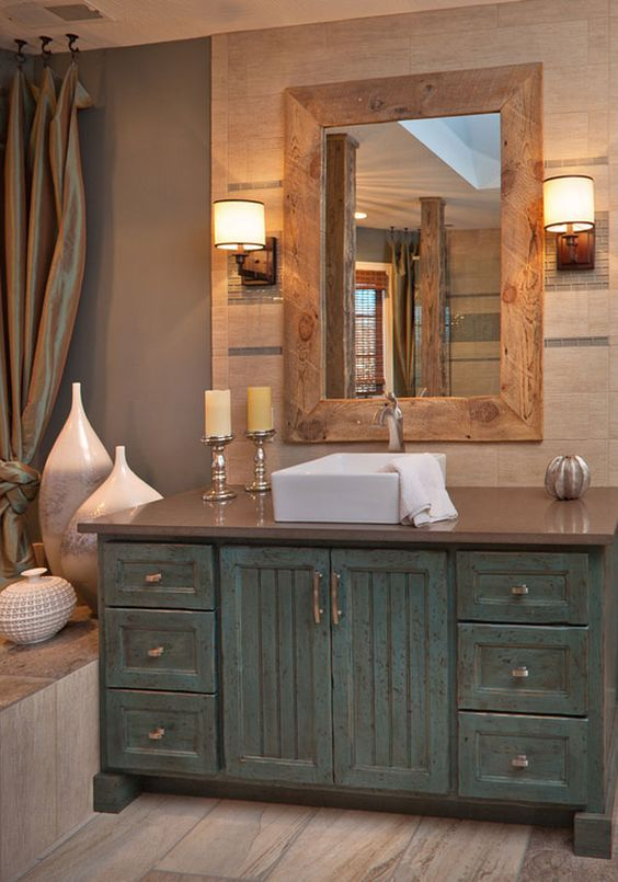 rustic bathroom ideas 11