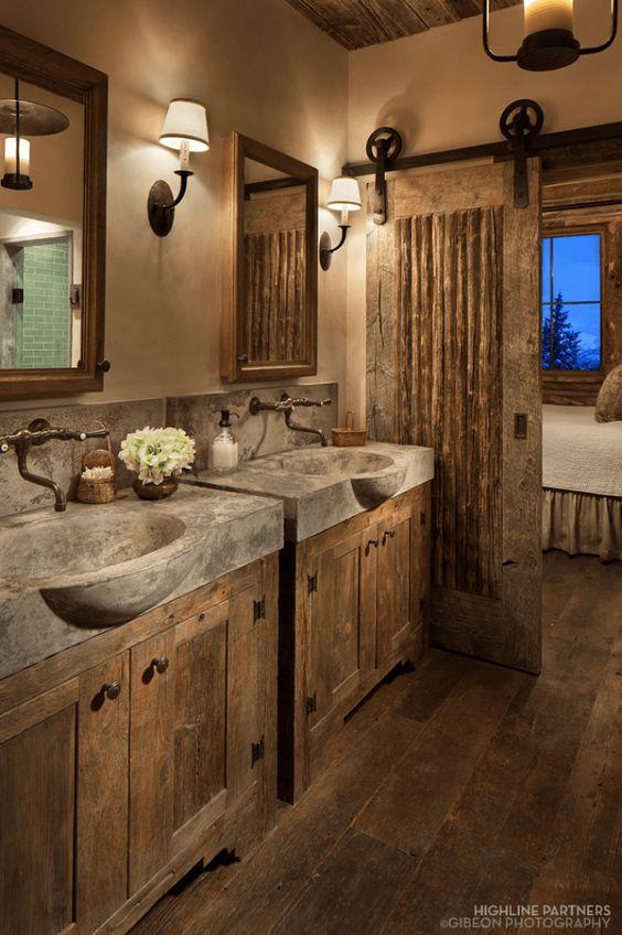 rustic bathroom ideas 12