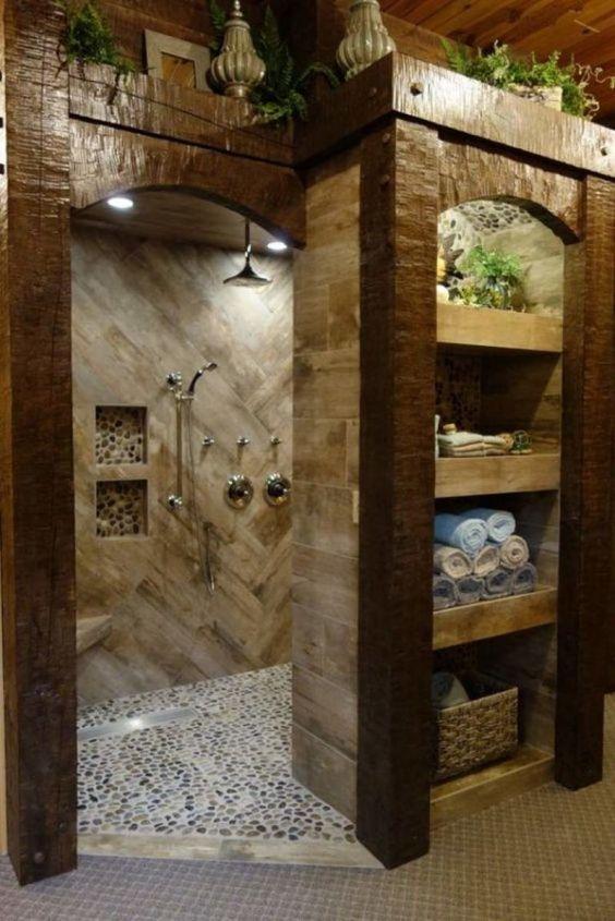 rustic bathroom ideas 14