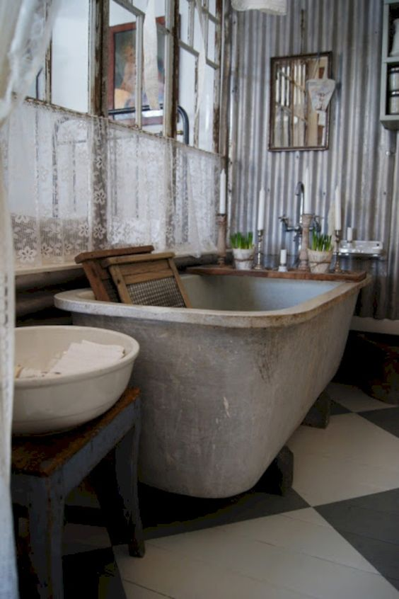 rustic bathroom ideas 15
