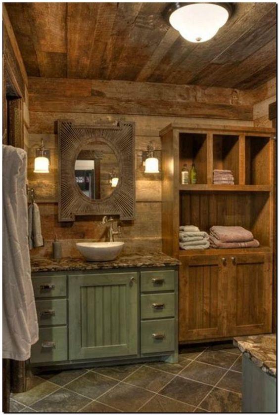Rustic Bathroom Ideas: Beautiful Earthy Decor