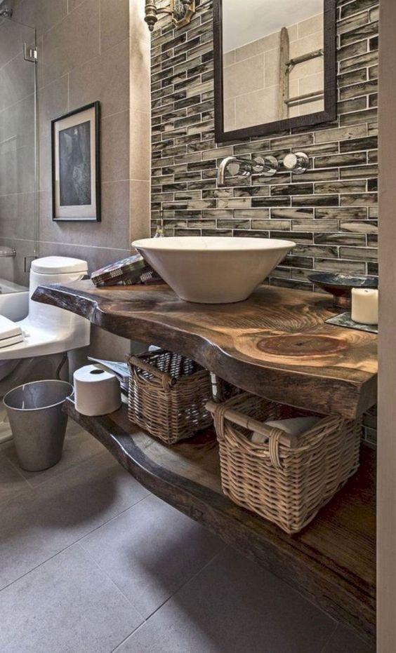 rustic bathroom ideas 20
