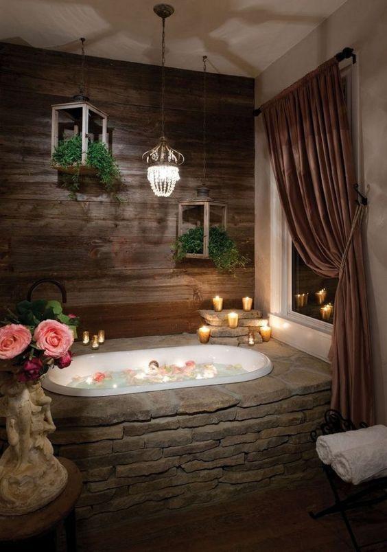 rustic bathroom ideas 23