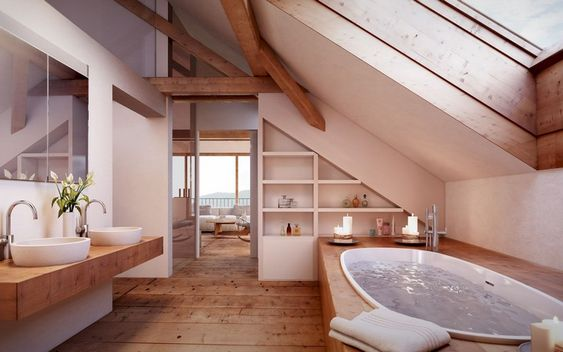 rustic bathroom ideas 24