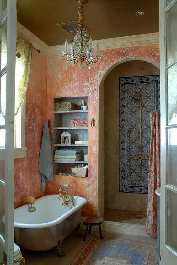 Rustic Bathroom Ideas: Gorgeous Moroccan Decor