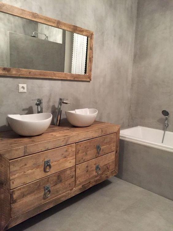 Rustic Bathroom Ideas: Elegant Minimalist Decor