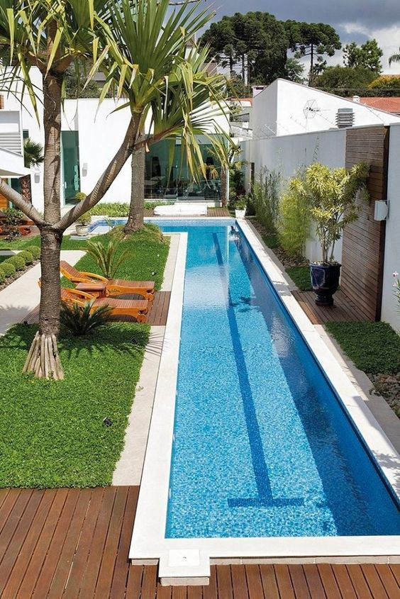 swimming pool landscaping ideas 17