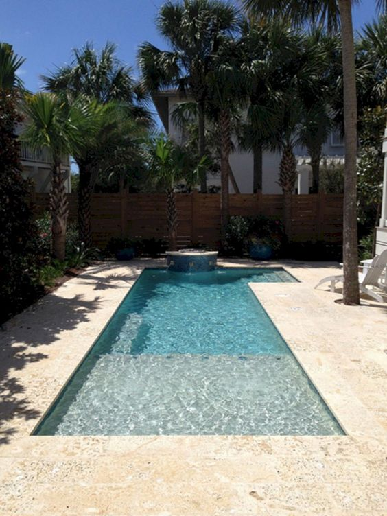 swimming pool landscaping ideas 18
