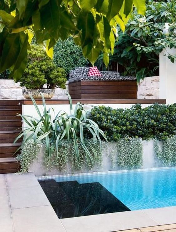 swimming pool landscaping ideas 20