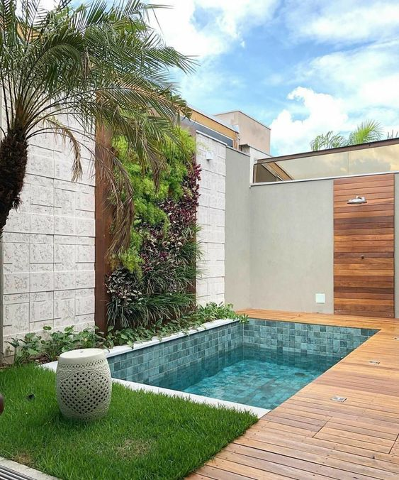 Easy Landscaping Ideas You Can Try: Swimming Pool Landscaping Ideas: 21+ Easy DIY Decors To Try