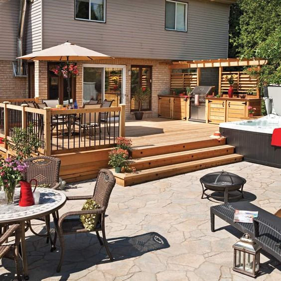Backyard Deck Ideas 13
