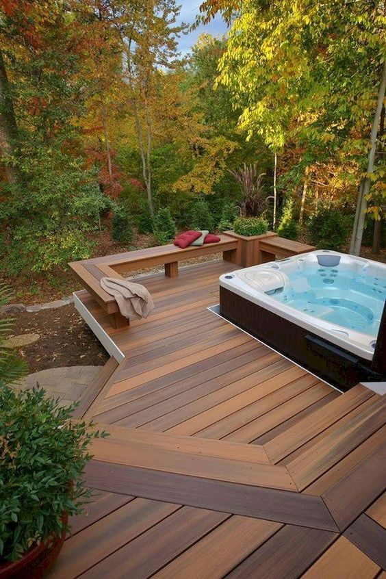 Backyard Deck Ideas 14