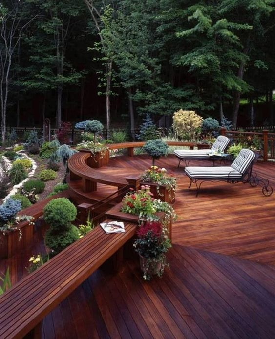 Backyard Deck Ideas 16