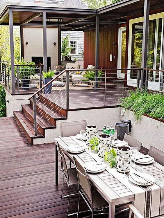 Backyard Deck Ideas 17