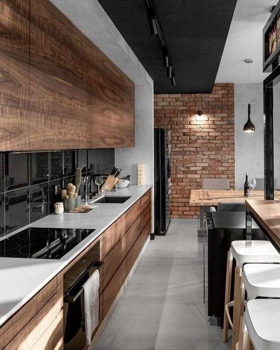 Black Kitchen Ideas 10